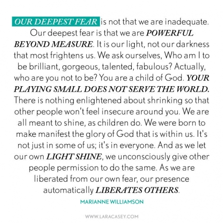 marianne williamson quote on love